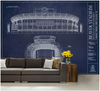 Soldier Field Wall Mural