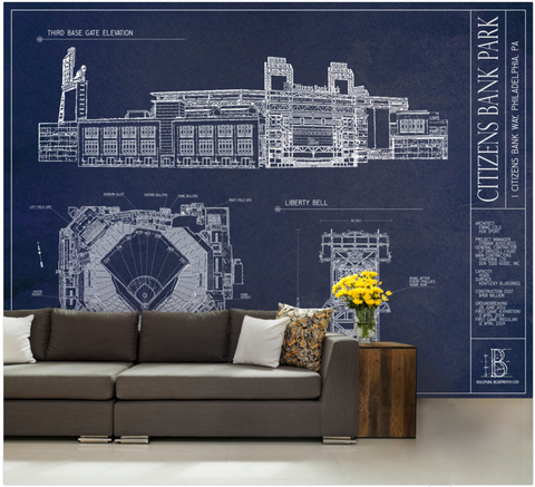 Rose Bowl Stadium Wall Mural