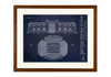 SPECIAL DEAL - Fenway Park - Large Framed Canvas (Walnut)