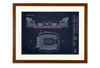 SPECIAL DEAL - Busch Stadium - Small Framed Print (Black)