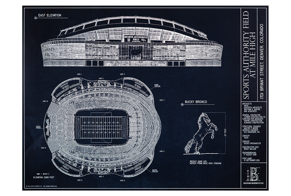 Sports authority field at mile high denver broncos ballpark heres a great fathers day gift idea for the broncos fan in your life an malvernweather Images