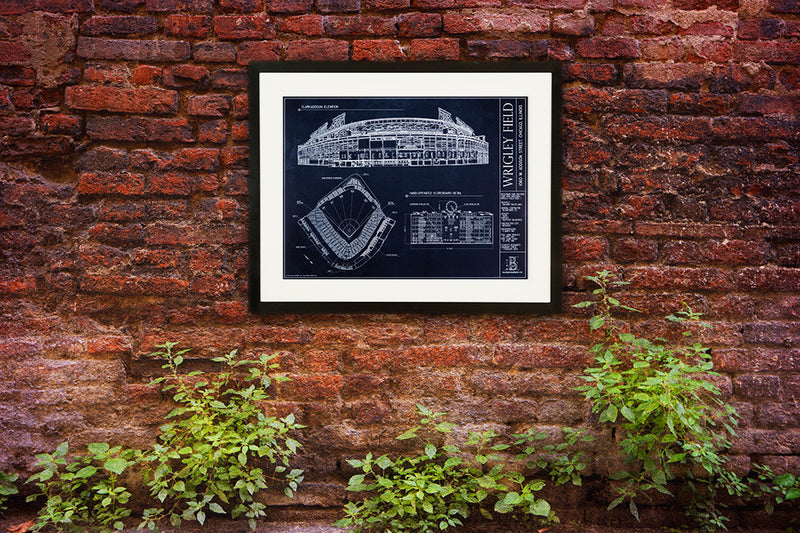 "Display the ""Friendly Confines"" stadium Ballpark Blueprint anywhere."