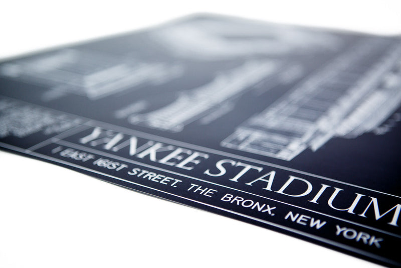 The details of the Yankee Stadium Ballpark Blueprint are outstanding.