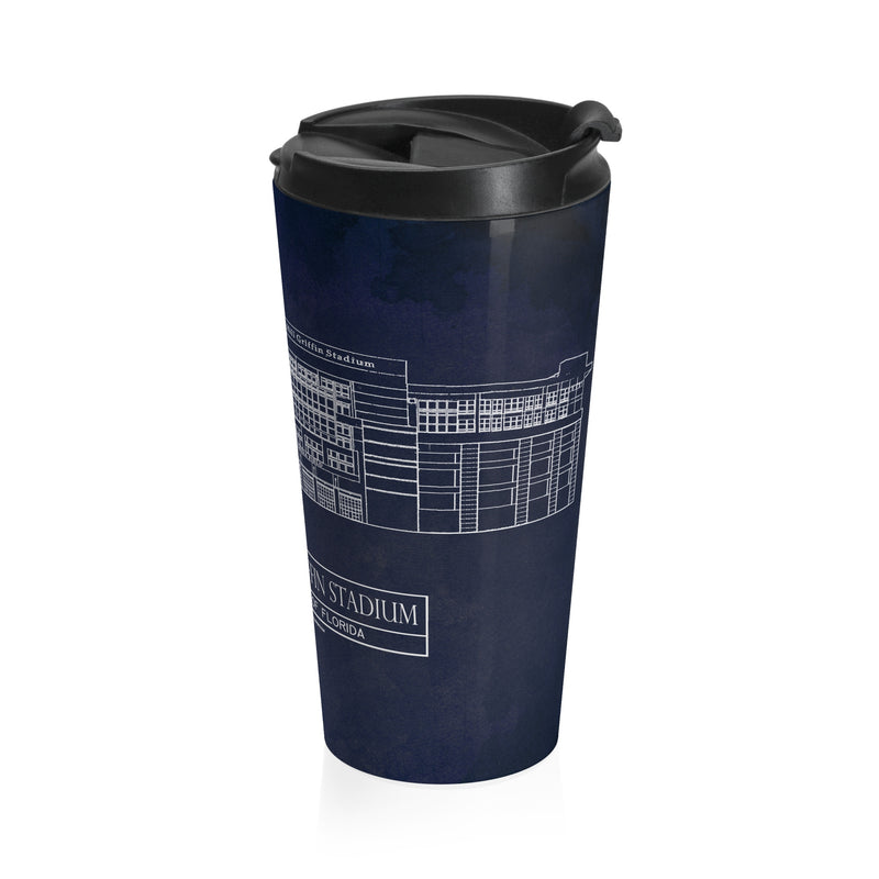 Ben Hill Griffin Stadium - University of Florida Stainless Steel Travel Mug