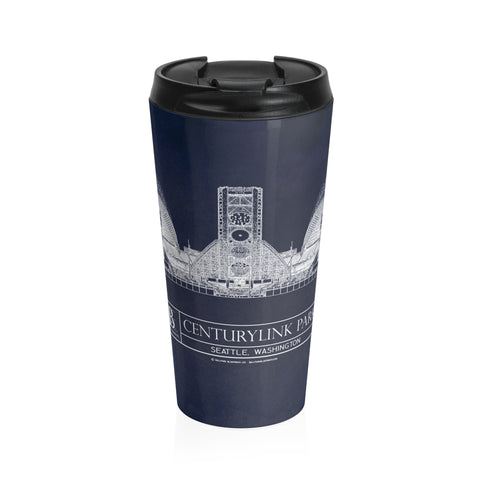 Candlestick Park Stainless Steel Travel Mug