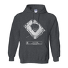 PNC Park (Plan View) Hoodie