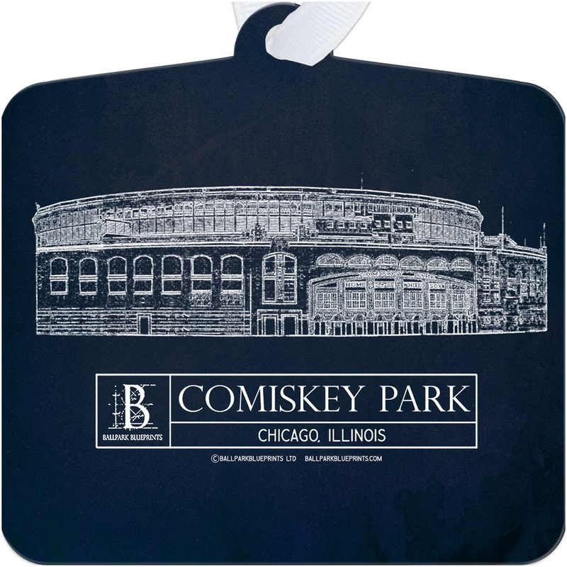 Comiskey Park Metal Ornament