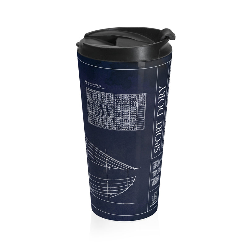 Tips from a Shipwright - Total Sport Dory Stainless Steel Travel Mug
