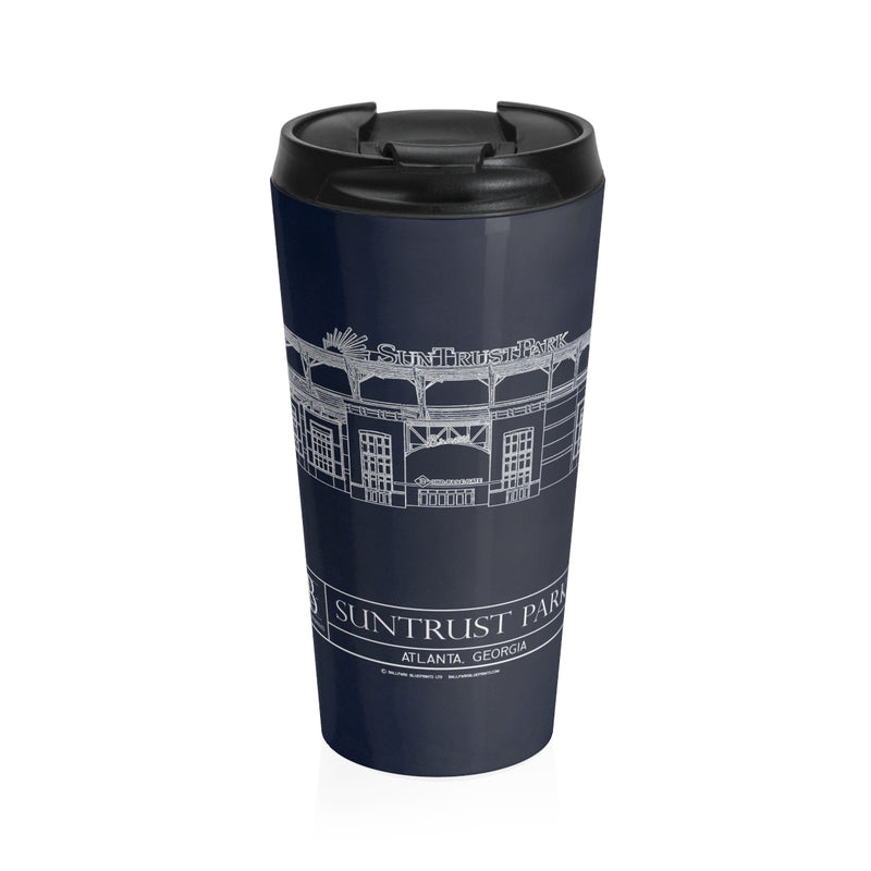 Suntrust Park - Atlanta Braves - Stainless Steel Travel Mug