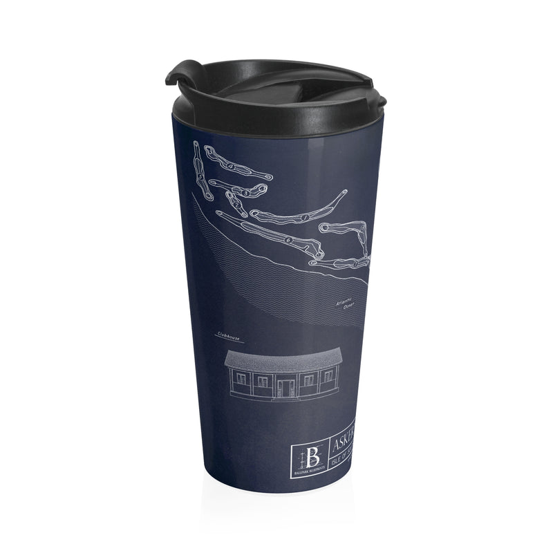 Askernish Golf Club Stainless Steel Travel Mug
