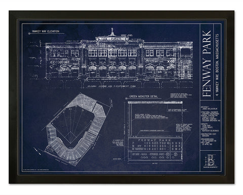 SALE - Arrowhead Stadium - Large Framed Print (Black)