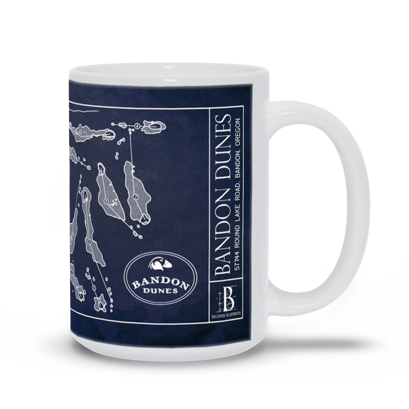 Bandon Dunes Golf Course - Mug
