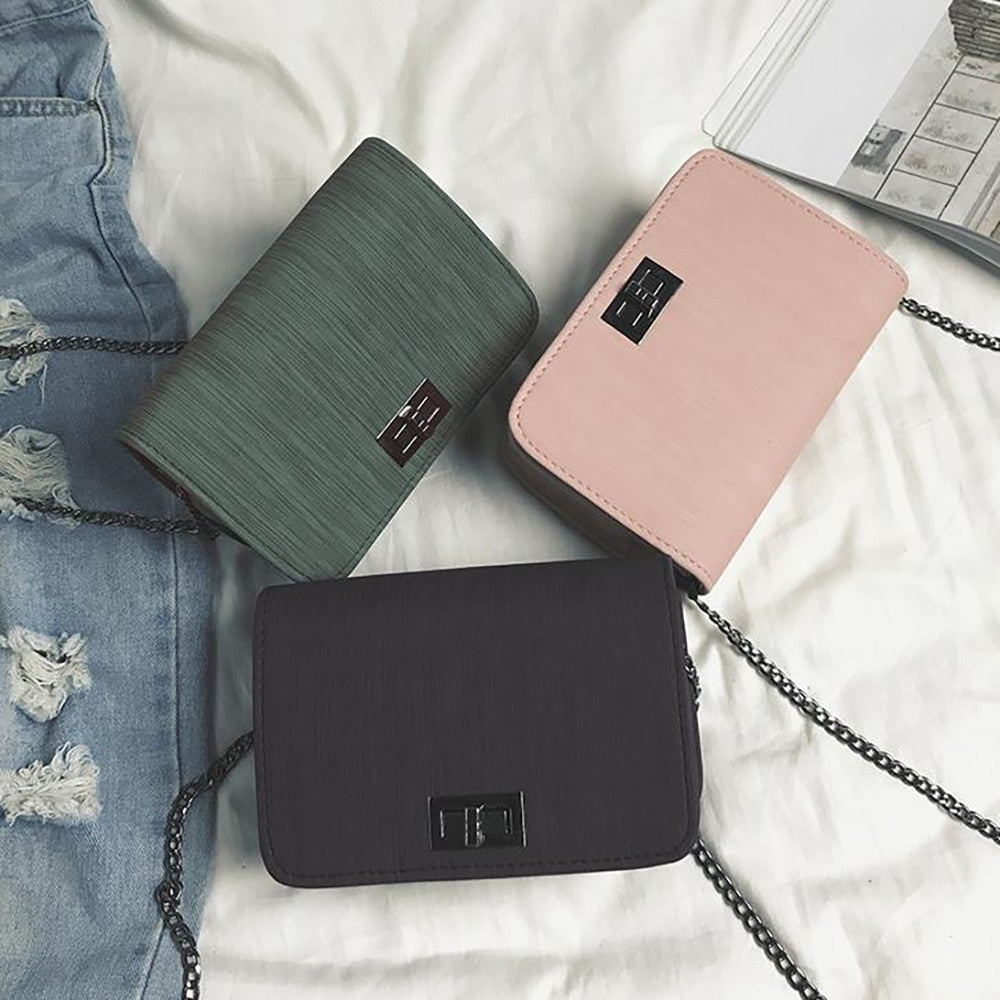Women Shoulder Bag Luxury Handbags Girls Mini Bags Designer Version Wild Small Square Messenger Bag Bolsa Feminina #YJ