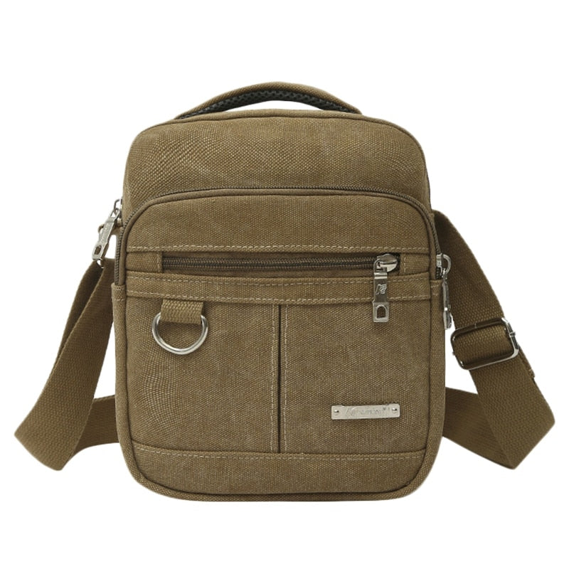 Men Shoulder Bag Canvas Handbag for Male Messenger Bag Casual Travel School Bags Men Messenger Bags
