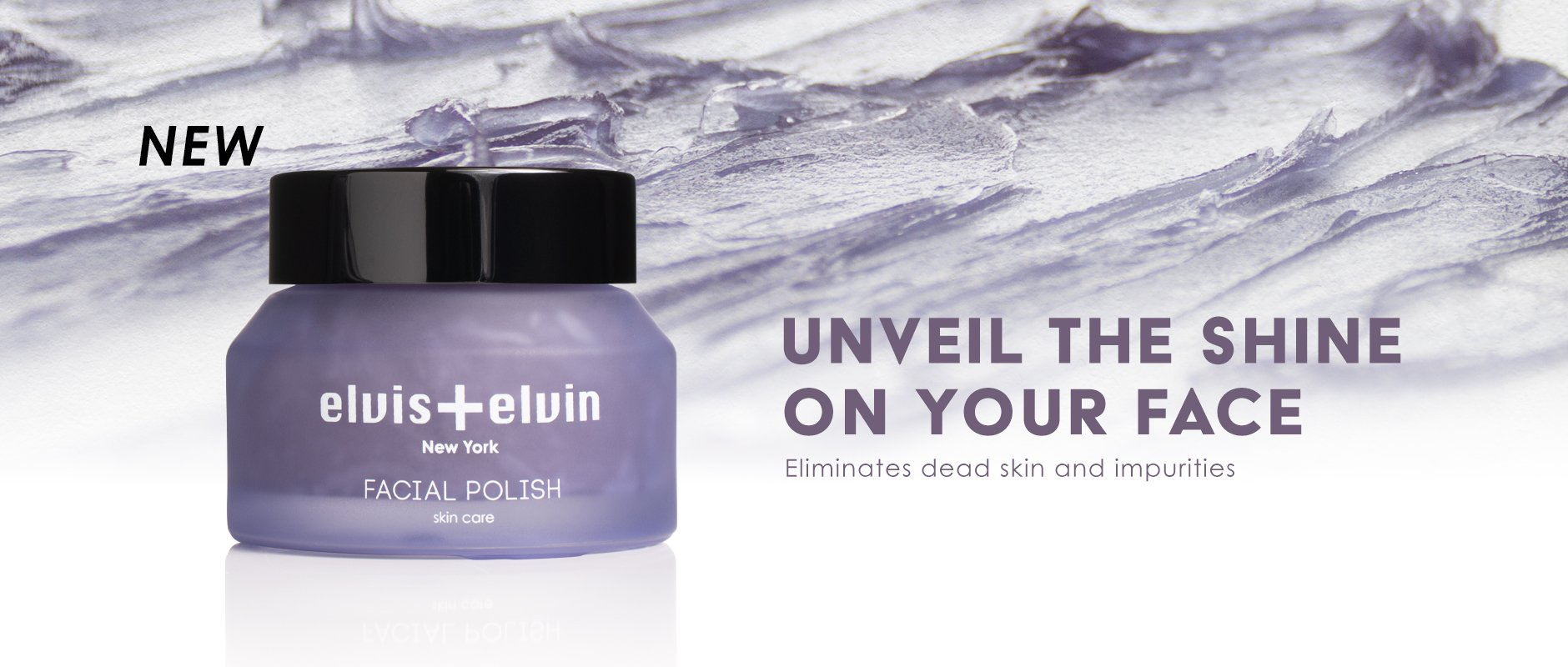 Lilac Facial Polish by beauty | elvis+elvin