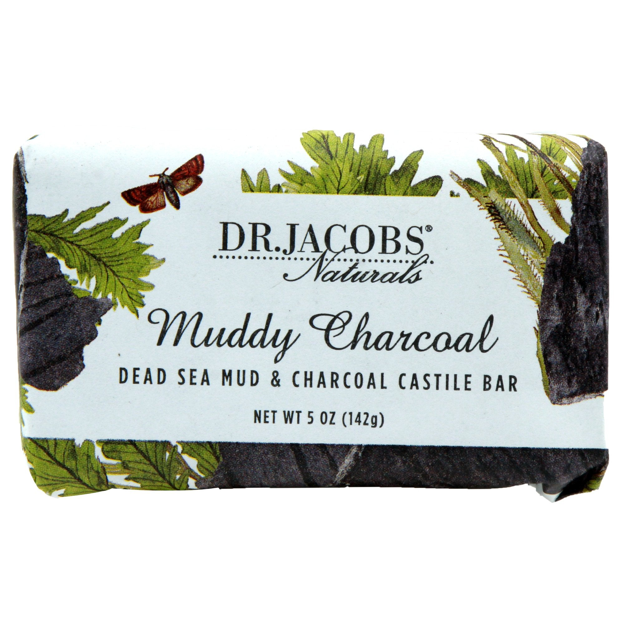 Muddy Charcoal Bar Soap by Dr. Jacobs Naturals