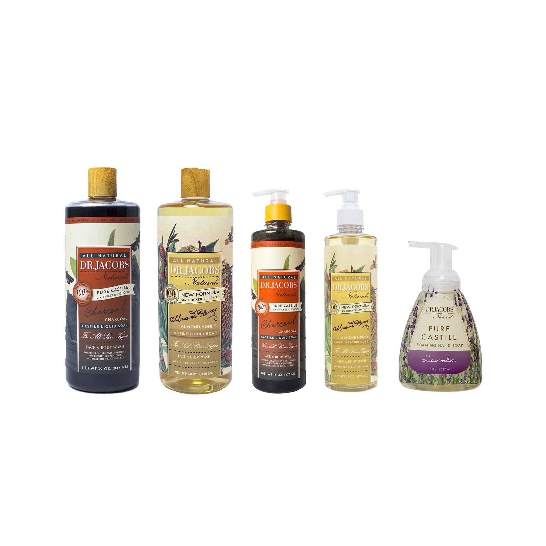 'Best Sellers' Bundle by Dr. Jacobs Naturals