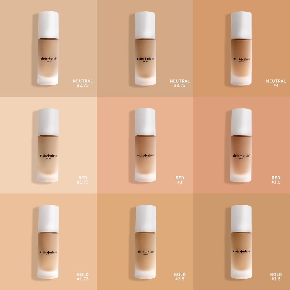 Floral Brightening Anti-Pollution Foundation 30ml by beauty | elvis+elvin