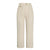 New York Casual Loose Cropped Trousers Pant - Ivory