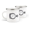 SET 2 MUG CLOCK - carico-shop