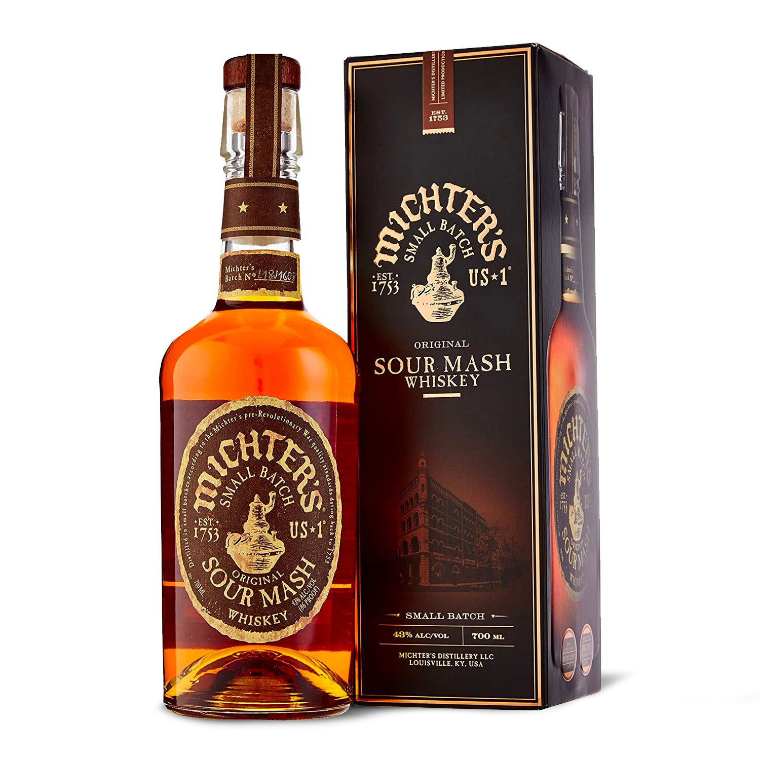 MICHTER'S US 1 ORIGINAL SOUR MASH - carico-shop