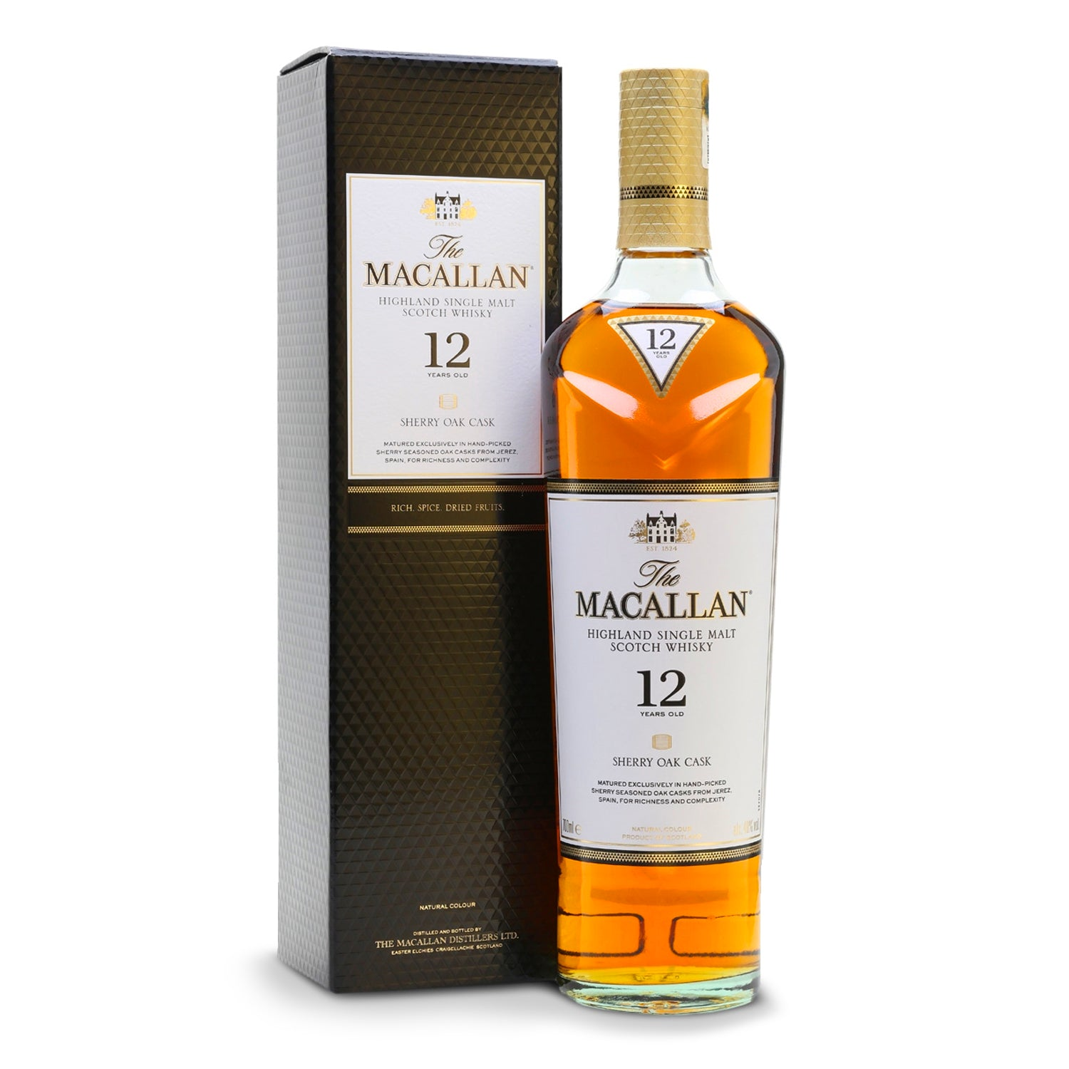 THE MACALLAN 12yo - carico-shop