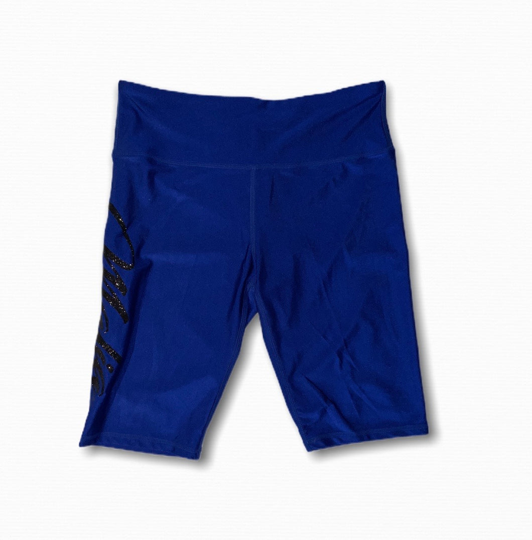 Blue Mafia biker shorts