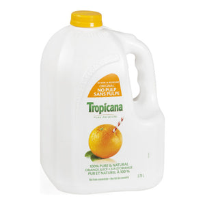 TROPICANA ORANGE JUICE PURE PREMIUM NO PULP (4/3.78L)