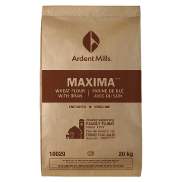 MAXIMA WHEAT FLOUR WITH BRAN - ARDENT MILLS (20KG)