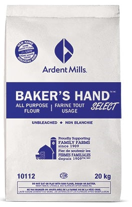 FLOUR ALL PURPOSE UNBLEACHED - ARDENT MILLS (1/20KG)