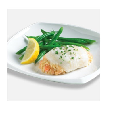SOLE ELITES STUFFED WITH CRABMEAT & SCALLOP - HIGH LINER (1/10LB)