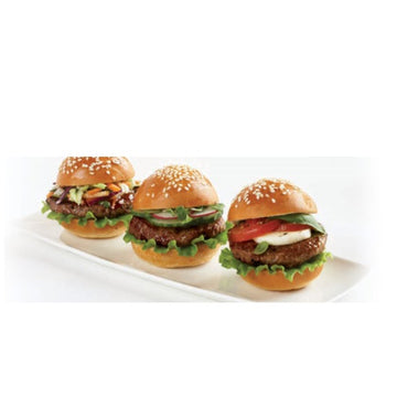 BEEF BURGER MINI -  CARDINAL MEATS (48/1.6OZ)