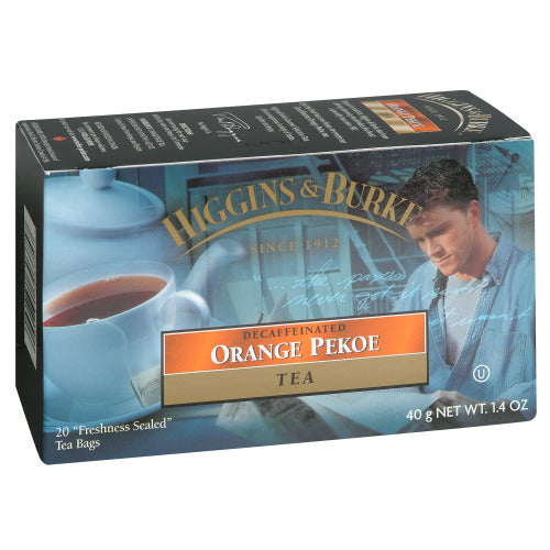 H&B ORANGE PEKOE DECAF TEA TAGGED 2G (6/20CT)