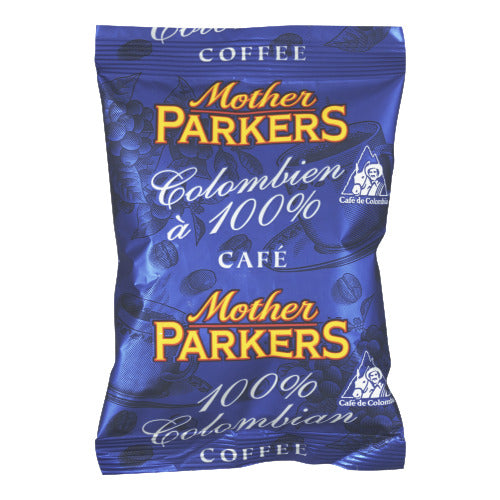 MOTHER PARKERS COFFEE COLOMBIAN 100% (64/2.5OZ)