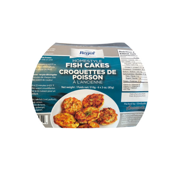 HOMESTYLE FISH CAKES - ALLIANCE (12/6EA)