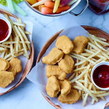 CHICKEN NUGGETS BREAST MEAT 180CT (4KG)