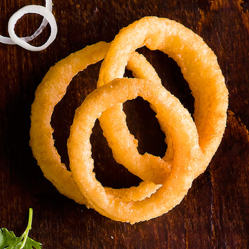 BEEFEATER® BATTERED 1/2'' ONION RINGS - MCCAIN 1 X 4KG