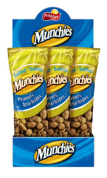 MUNCHIES - SALTED PEANUTS  72x55G