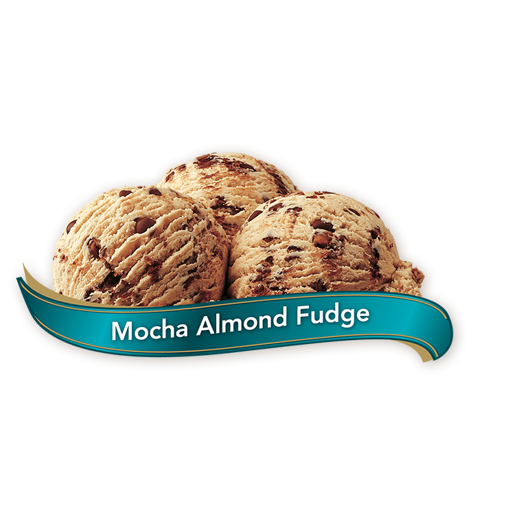 ICE CREAM MOCHA ALMOND FUDGE - CHAPMANS (1/11.4L)