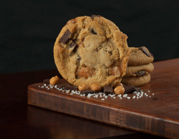 SALTED CARAMEL CHOC CHUNK COOKIE DOUGH 168X42G