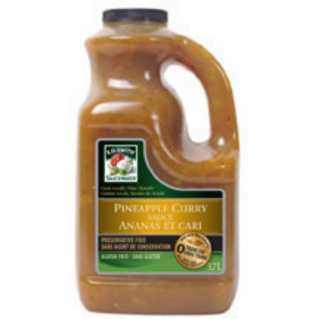 PINEAPPLE CURRY SAUCE (2/3.7L)