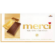 MERCI TABLETS COFFEE AND CREAM MASTER 75CT