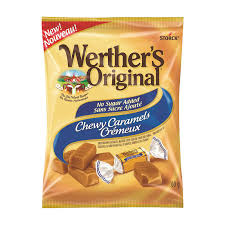 WERTHER'S ORIGINAL CHEWY CARAMELS NSA 12X60G