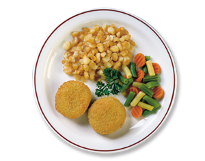 FISH CAKES 2OZ - HIGHLINER (1/10LB)