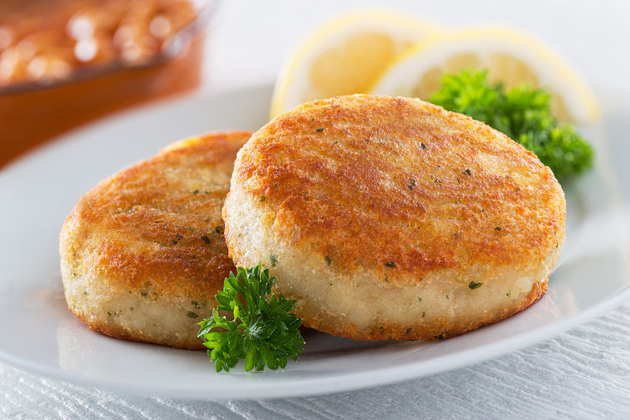 FISH CAKES 3OZ - COMEAU'S (1/5LBS)