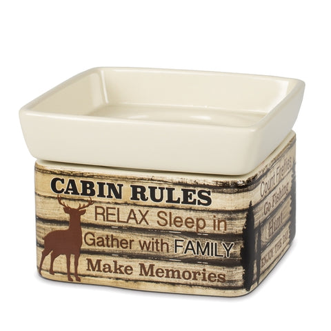 Large 2-in-1 Warmer: Cabin Rules