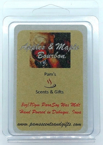 Apples & Maple Bourbon Wax Melts - Pam's Scents and Gifts