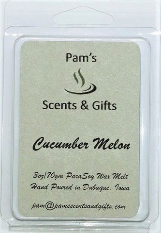 Cucumber Melon (Type) Wax Melts - Pam's Scents and Gifts