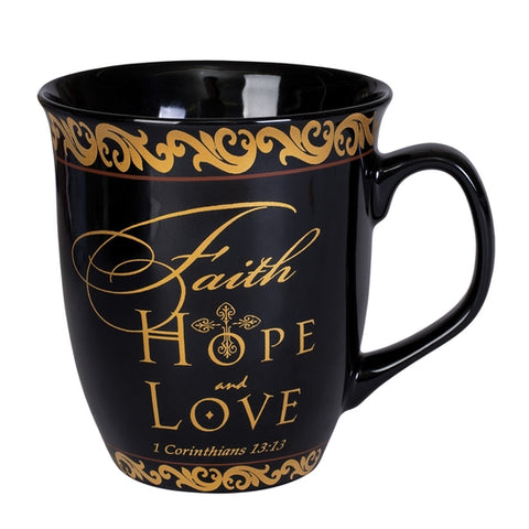 Mug Set - Faith Hope Love