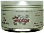 Fudge Scented Tin Candle